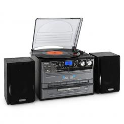 Sistem Stereo Hi-Fi,Vinyl/CD/MP3 USB SD,casetă