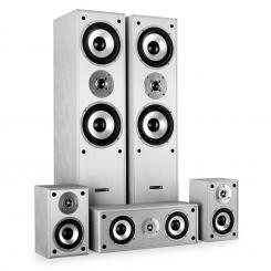 Set surround de Hyundai boxe pentru home cinema 1150 W Alb