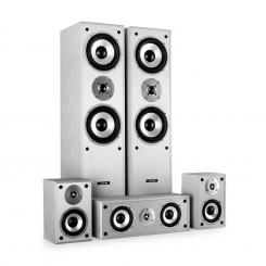 Set surround de LTC boxe pentru home cinema 1150 W Alb