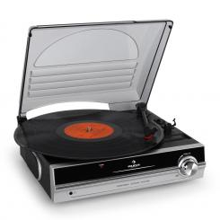 TBA-298 Turntable integrate boxe. Argintiu