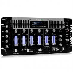 DJM-102 PRO 4-kanalna mešalna miza 10-BAND EQ BATTLE