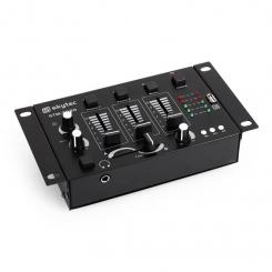 STM-3020, DJ mixer 3/2 canale, intrare MP3, USB