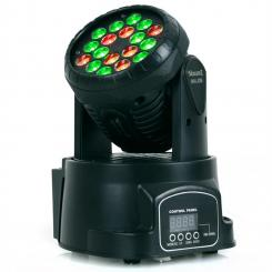 LED 108 Movinghead RGB, 12/4 csatorna, DMX