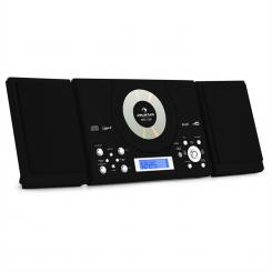 MC-120 HI-FI STEREO SISTEM MP3 CD PLAYER USB- CRNI Crna