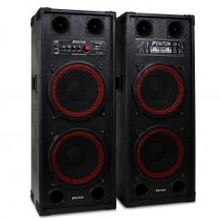"SPB- 210 DVA DUAL 10"" BASS MASTER/ SLAVE POWERED PA"