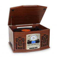 Sistem audio NR-620, Retro Record Player CD MP3, maro Mahon
