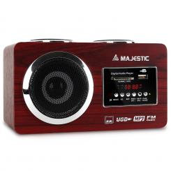 KOMPAKTNI RADIO MAJESTIC 173 AH, MP3 PLAYER, USB, SD, AUX