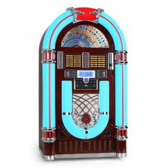 JB 3710TT JUKEBOX, USB, SD, CD, AUX, RÁDIO, GRAMOFON