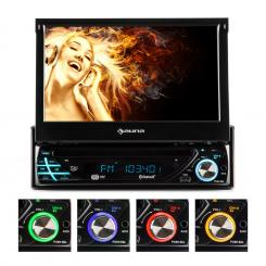 Autorádio Auna MVD-220 , DVD, CD , MP3 , USB , SD , AUX, BT MVD-220