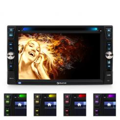 MVD-481 BLUETOOTH радио DVD CD MP3 за кола USB SD 6,2'' TOUCH SCREEN