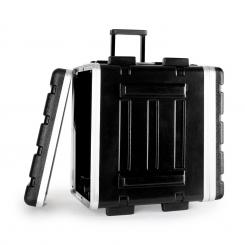 "ABS-Trolley flightcase, rack case, kufor, 19"", 4 U 4U montážny držiak"