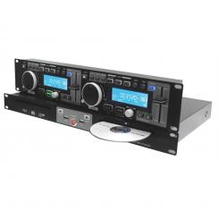 CDD5000, usb, mp3, cd player dublu, controler