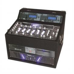 DJ Станция IBIZA DJ1000MKII, CD, MP3, USB, SD, AUX