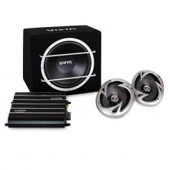 VC-PKPOWER, 1300 W, hi-fi set do auta