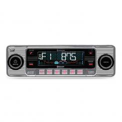 TCX-1-RMD Auto Stereo radio Bluetooth USB SD MP3 CD AUX Srebro