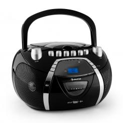 Beeboy , radio snimač, CD, MP3, USB, crni