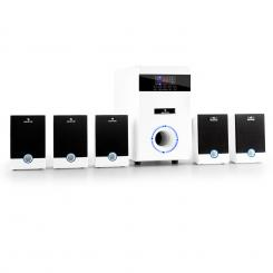 5.1 surround Set activ JW multimedia home theater alb