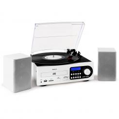 / Audiola, stereo systém, LP, CD, USB, SD, MMC, MP3