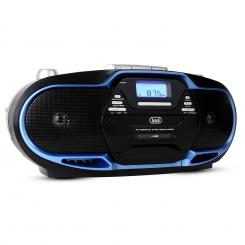 CMP-574 boombox, CD, MP3, USB, kazetofon, FM / AM tuner, plavi