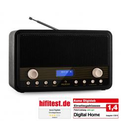 Digidab Retro DAB digitalni radio FM/AM PLL z budilko