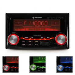 MD-830, radio za auto s bluetoothom, USB, SD, MP3, 3 boje