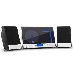 Vertical 90, stereo sistem, CD, USB, MP3, SD, AUX, crni Crna
