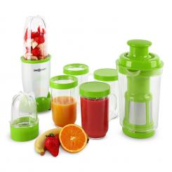Neted blender 350W 18 buc. verde-alb