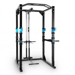 Rack Power Tremendour Homegym oțellat Negru | WITH_LAT_PULL