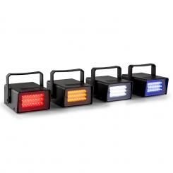 MINI set od četiri LED stroboskopa u RGBW