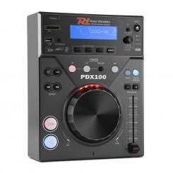 PDX100, DJ CD přehrávač s CD, USB, SD a MP3