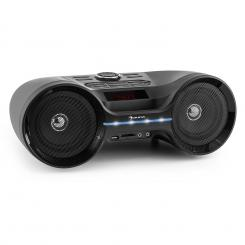 LED Boombastic Bluetooth Boombox USB SD MP3 AUX FM