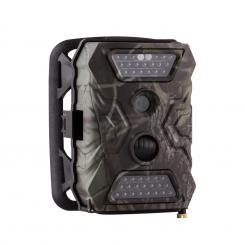 GRIZZLY Mix Trailcamera 40 LED-uri Negru 12 MP Full HD USB acumulator SD fără GSM