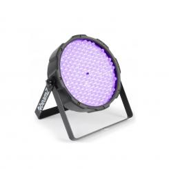 FlatPAR, 186 x 10 mm, PAR reflektor, UV LED, DMX
