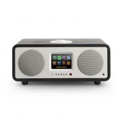 One - 2.1 Proiectare Internet Radio 20W Bluetooth Spotify Connect DAB + negru Negru