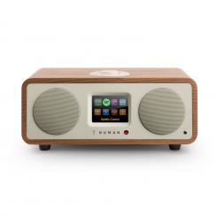 ONE - 2.1 DESIGN интернет радио 20W BLUETOOTH SPOTIFY CONNECT DAB+ орех Орех