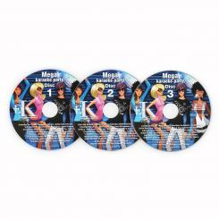 Karaoke CD + G Set, sada 3 ks