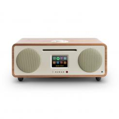 Two, ořech, 2.1 internetové rádio, CD, 30 W, USB, bluetooth, Spotify Connect, DAB + Ořech