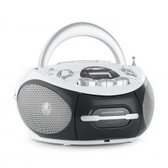 AH-2387 WH, BOOMBOX, RADIO REKORDER, MP3, USB, CD, FM