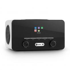 Connect 150 WH 2.1 Internetradio Mediaplayer WiFi LAN USB DAB+ FM RDS AUX Biela