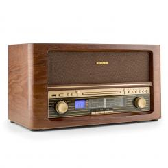 Belle Epoque 1906, retro stereo systém, CD, USB, MP3, AUX, FM/AM CD-Player