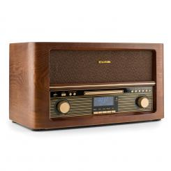 Belle Epoque 1906 DAB, retro stereo systém, bluetooth, CD, USB, MP3, FM CD-Player / Bluetooth / DAB Radio