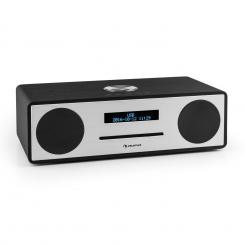 Standford DAB-CD-rádio DAB+ bluetooth USB MP3 AUX FM, čierna Čierna