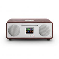 TWO, WENGE, 2.1 INTERNETNI RADIO, CD, 30 W, BLUETOOTH, SPOTIFY CONNECT Mahagonska