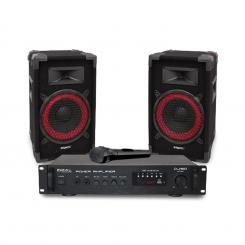 "DJ150 Disco Sound Set PA-Amplificatoare19"", 2 x difuzor"
