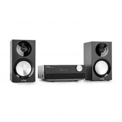 CDM90-BL, черна, микро HiFi стерео система, 40 W, bluetooth, USB, CD, FM/AM