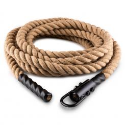 Power Rope H4 с кука ,4m 3,8cm коноп,конопено въже 4 m