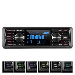 "MD-350B, autorádio, BT, USB, SD, MP3, bez CD mechaniky, 4 x 45 W, 3 ""LCD, AUX"