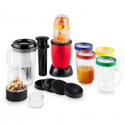Smoothy 2G multifuncțional blender Smoothiemaker 4-in-1 220W BPA-free roșu Roșu