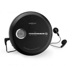 CDC 100MP3 Discman Disc-Player, LCD ASP, pojačalo, 2x1,5V; crna boja Crna