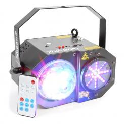 Sway 3-in1-LED Jellyball s laserom a LED-organom RGBW-LEDs 150mW-RG laser